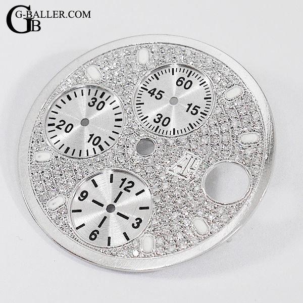 ロイヤルオークオフショアクロノ ダイヤモンド文字盤