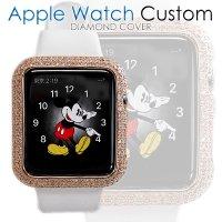アップルウォッチ2 ダイヤ K18PG カバー Apple Watch2