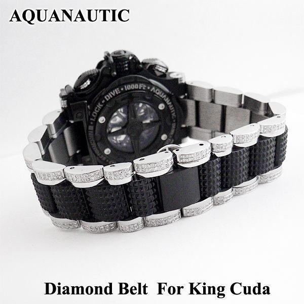 画像4: アクアノウティック  ダイヤベルト ダイヤモンド ウォッチバンド
