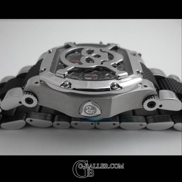 画像3: アクアノウティック  トノー/キングクロノ スカルマスク / KING CHRONOGRAPH