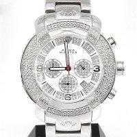 Aquamaster Diamond Chronograph SAM79 White Dial