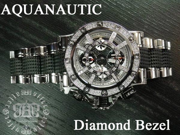 画像5: アクアノウティック マスクアフターダイヤ 旧式ベゼル ダイヤモンド加工