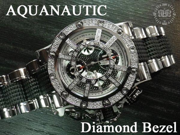 画像4: アクアノウティック マスクアフターダイヤ 旧式ベゼル ダイヤモンド加工