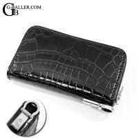 BACKLASH クロコダイル財布 Dカン アフターダイヤ