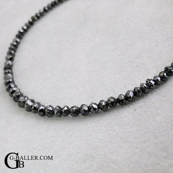 画像3: 天然 ブラック ダイヤモンド ブレスレット 11.35ct K18YG メンズ レディース