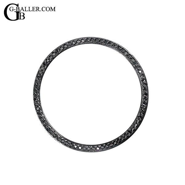 ブライトリング ベントレーGMT用 インナーリング ブラックダイヤ