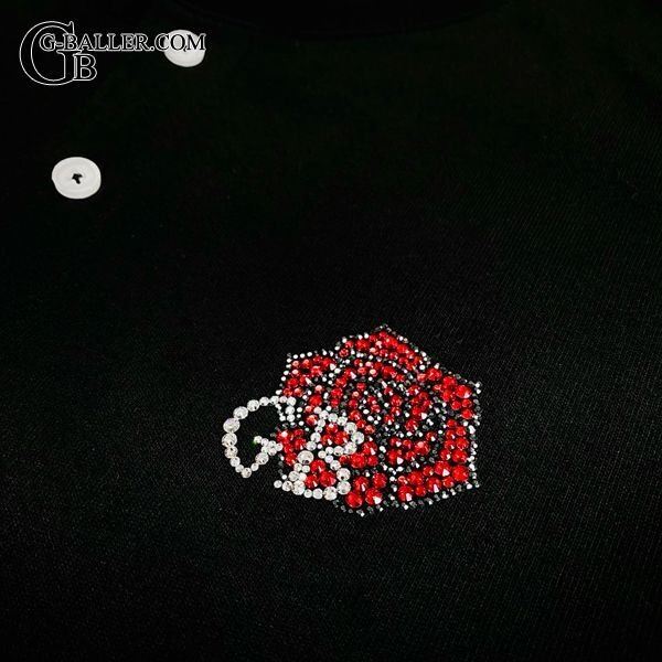GB×薔薇ロゴ スワロTシャツ