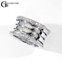 ブルガリアフターダイヤ | ビーゼロワンリング ダイヤモンド