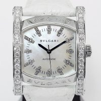 Bvlgari Assioma AA44s Mother of Pearl 40P Diamond Dial 35mm unisex
