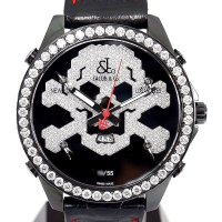 Jacob & Co. Five Time Zone JC skull10d Diamond 47mm Limited Model