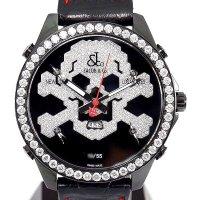 Jacob & Co. Five Time Zone JC skull10d Diamond 47mm Limited Model