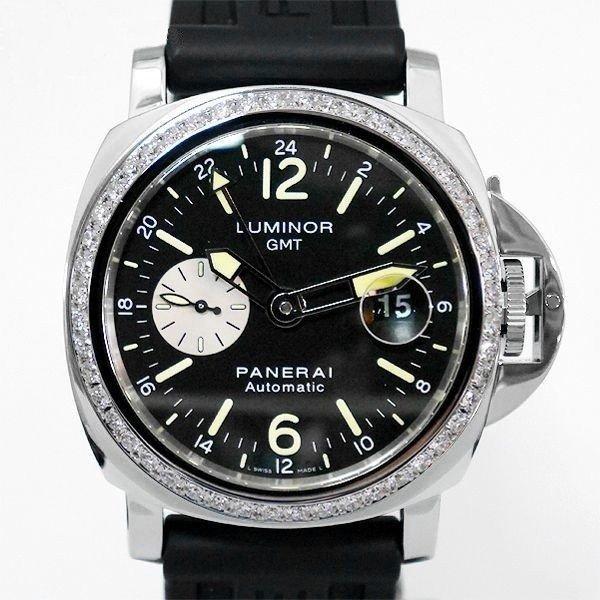 画像1: Panerai Luminor GMT PAM00088 Diamond AT 44mm