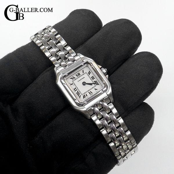 カルティエ時計の傷も新品仕上げで直します。