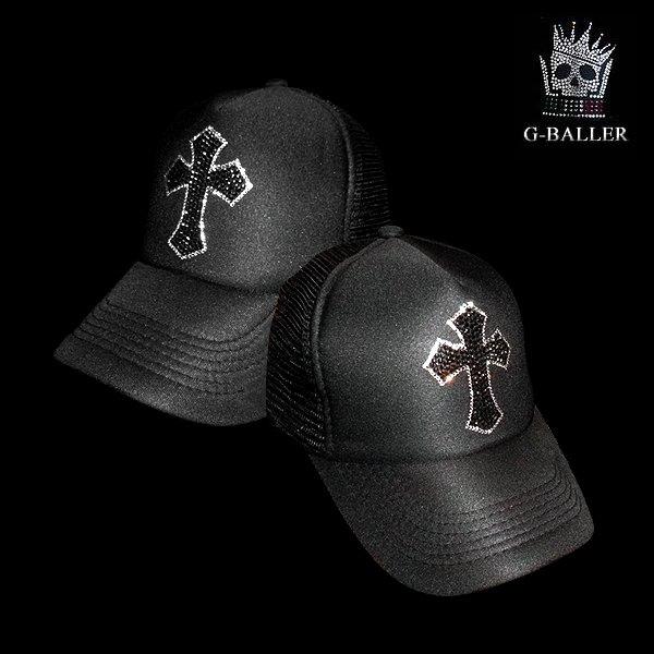 画像2: スワロキャップ クロス SWAROVSKI社製 スワロフスキー G-BALLER CAP