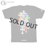 【激レア】クロムハーツ 新作 マルチカラー セメタリークロス Tシャツ 黒 M 新品