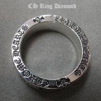 クロムハーツ フォエバーリング・クロス ダイヤモンド カスタム