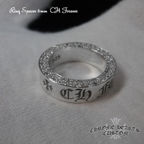 画像4: CH Forever Ring/クロムハーツ フォエバーリング・スペーサーリング アフターダイヤ