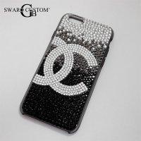 シャネル アイフォンケース スワロフスキー iphone