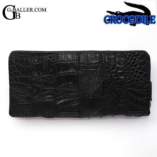 クロコダイル財布 メンズ レディース