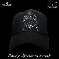 クロス アンカー キャップ G-BALLER スワロフスキーCAP