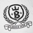 画像2: SALE!! BUONA SERA/ボナ・セーラ CROWNーB Tシャツ (2)