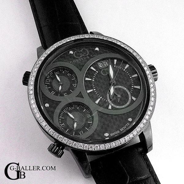 アフターダイヤベゼル カーティス時計
