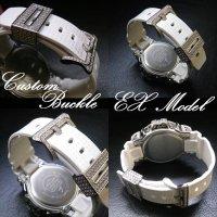 G-CUSTOM ベルトパーツ Ex Model バックルパーツ ; Vo,II G-SHOCK メンズ腕時計 ベルト パーツ カスタム