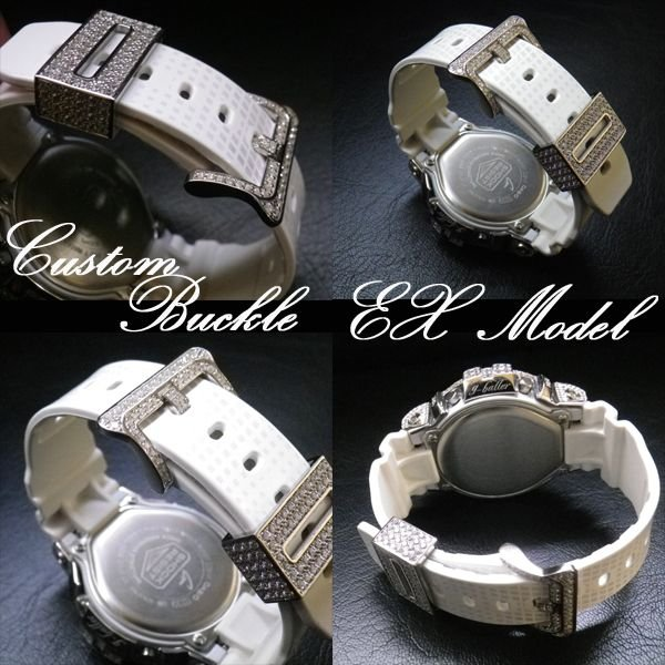 画像1: G-CUSTOM ベルトパーツ Ex Model バックルパーツ ; Vo,II