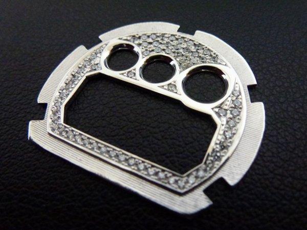 画像1: G-SHOCKカスタム 文字盤 ダイヤモンド DW6900用