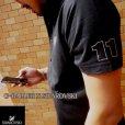 画像1: スワロフスキーオーダーメイド 製作 ナンバー11 オーダーポロシャツ (1)