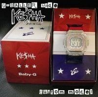 KESHA Model, Custom G-SHOCK BABY-G,  限定商品,