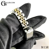 ロレックス ベルト ブレス 修理 デイトジャスト 69173G 10Pダイヤ