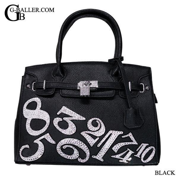 ナンバーデコバッグ BLACK/ブラック