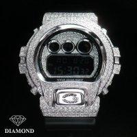 G-SHOCKカスタム DW6900 天然ダイヤ カスタムオーダー