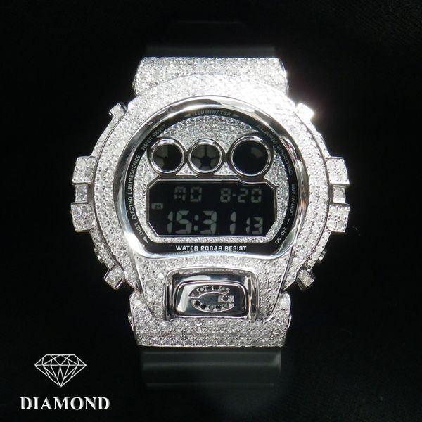 画像3: G-SHOCKカスタム 天然ダイヤモンド G-BALLER オーダーメイド