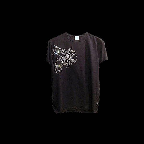画像1: スワロフスキー Tシャツ ドラゴン スワロTシャツ オーダーメイド カスタム