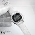 画像1: DW5600 PLAIN 925 BEZEL CUSTOM LEATHER (1)