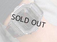 Black Diamond Watch Calf Leather仕様(Aspry製レザー) Luxury, ブラックダイヤモンド メンズウォッチ 牛革 最高級本革 腕時計 G-BALLER&Aspry