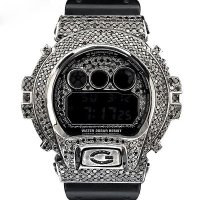 Casio G-Shock Custom by G-BALLER | DW6900 Black Coating Diamond