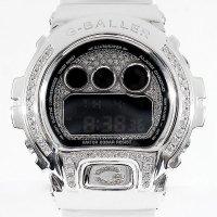 Casio G-Shock Custom by G-BALLER | DW6900 DoubleLine Rhodium Coating Diamond