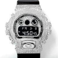 Casio G-Shock Custom by G-BALLER | DW6900 Rhodium Coating Diamond