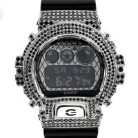 Casio G-Shock Custom by G-BALLER | DW6900DS Limited Model Black Coating Diamond