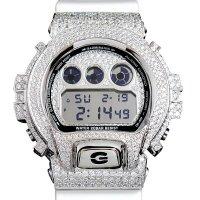 Casio G-Shock Custom by G-BALLER | DW6900 Mirror Dial Rhodium Coating Diamond