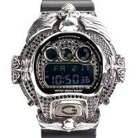 Casio G-Shock Custom by G-BALLER | DW6900 Cross&Skull Black Diamond