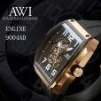 画像2: AWI 腕時計 エンジン 45mm AT 9004AD  フランクミュラー新ブランド (2)