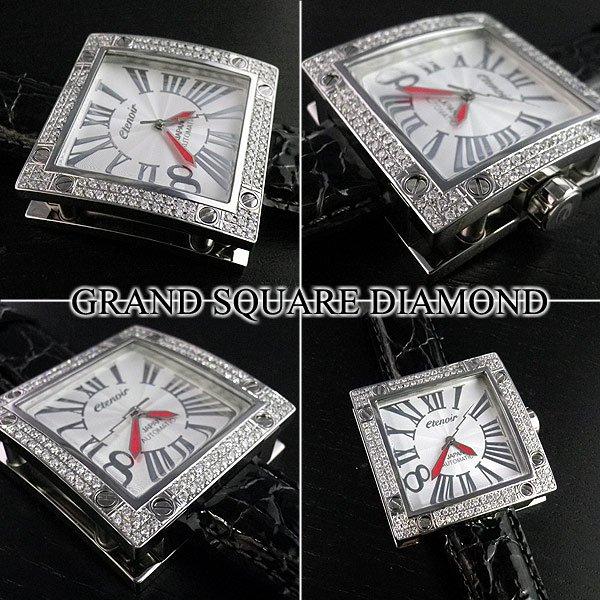画像4: エテノワール グランドスクエア ダイヤモンド ベゼル etenoir GRAND SQUARE アフターダイヤ