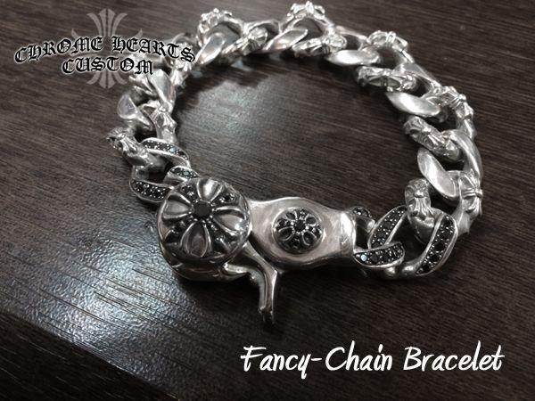 画像4: クロムハーツ  ブレスレット ファンシーチェーン ブレス ダイヤカスタム