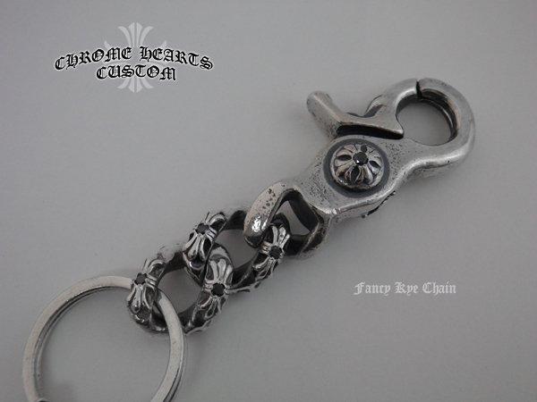 画像2: CHROMEHEARTS ファンシーキーチェーン ダイヤカスタム