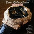 画像5: G-BALLER ブラッククロコレザー GA110ピンクゴールドカスタム スペシャルエディション 限定カラー 特別仕様 (5)