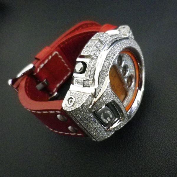 画像4: G-SHOCK レザーベルト G-SHOCK革ベルト 本革最高級品,カラー多数! G-SHOCKカスタム